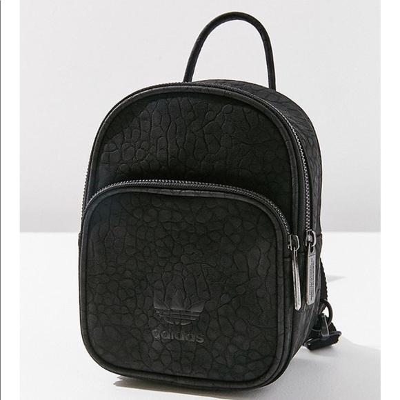 a272a1e224 adidas Handbags - Adidas Original Classic Mini Faux Leather Backpack